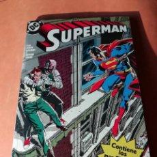 Cómics: SUPERMAN . DC. RETAPADO Nº 19 . EDICIONES ZINCO. Nº 51 AL 55. Lote 225153850