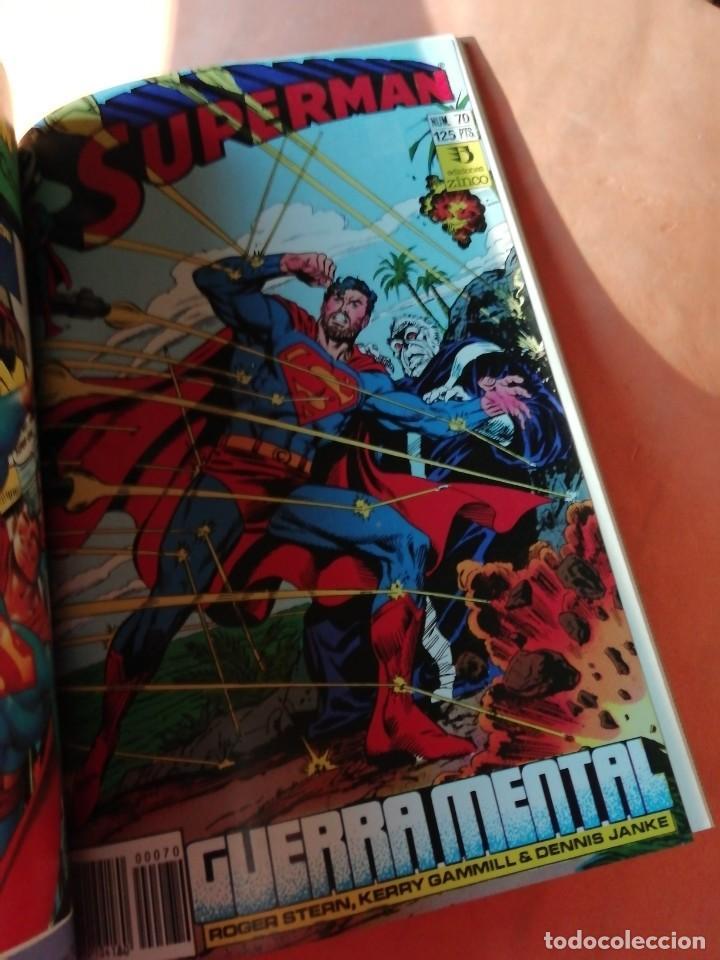 Cómics: SUPERMAN . DC. RETAPADO Nº 22. EDICIONES ZINCO. Nº 66 AL 70 - Foto 6 - 225154940