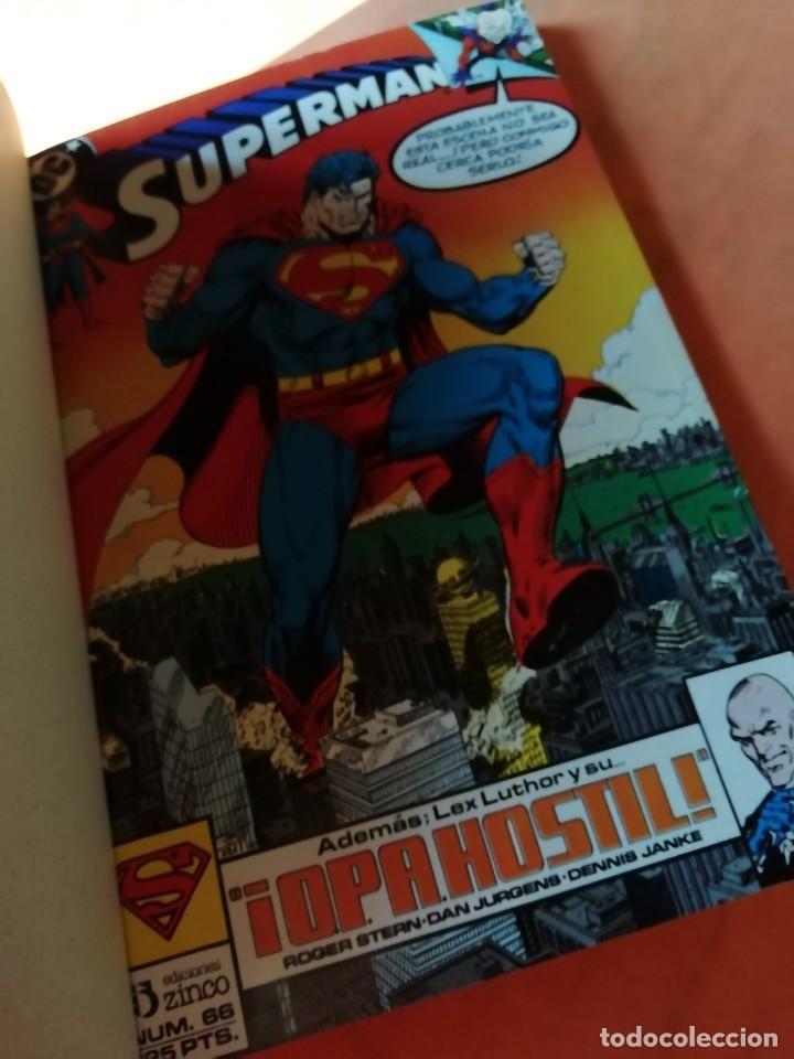 Cómics: SUPERMAN . DC. RETAPADO Nº 22. EDICIONES ZINCO. Nº 66 AL 70 - Foto 5 - 225154940