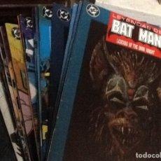 Cómics: LEYENDAS DE BATMAN-DEL 1 AL 20 (FALTAN 4,5 Y 19). Lote 225338020