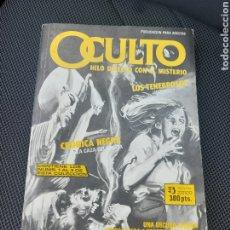 Cómics: COMIC OCULTO, HILO DIRECTO CON EL MISTERIO (CONTIENE LOS N° 1, 2 Y 3) EDICIONES ZINCO. Lote 225483285