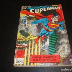 Cómics: SUPERMAN DEL 36 AL 40 TOMO 16. Lote 225524183