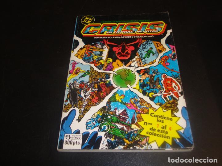 CRISIS EN TIERRAS INFINITAS COMPLETA 3 RETAPADOS 12 NUMEROS (Tebeos y Comics - Zinco - Retapados)
