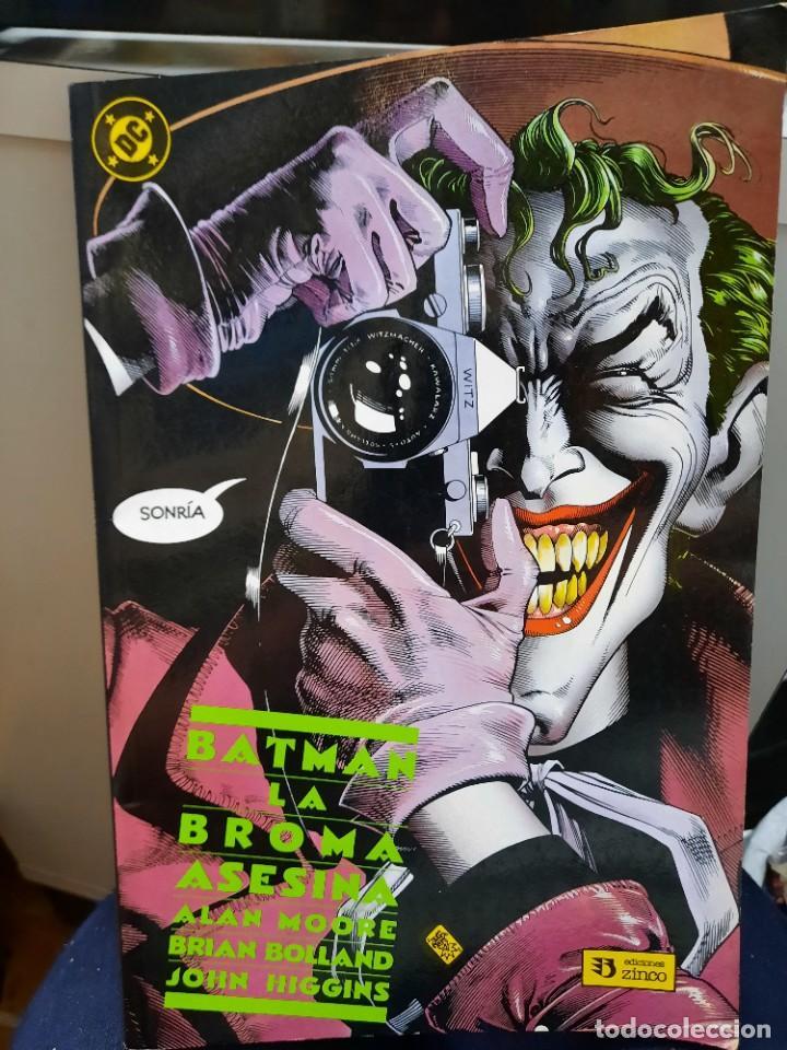 BATMAN LA BROMA ASESINA ALAN MOORE- BRIAN BOLLAND-JOHN HIGGINS (Tebeos y Comics - Zinco - Otros)