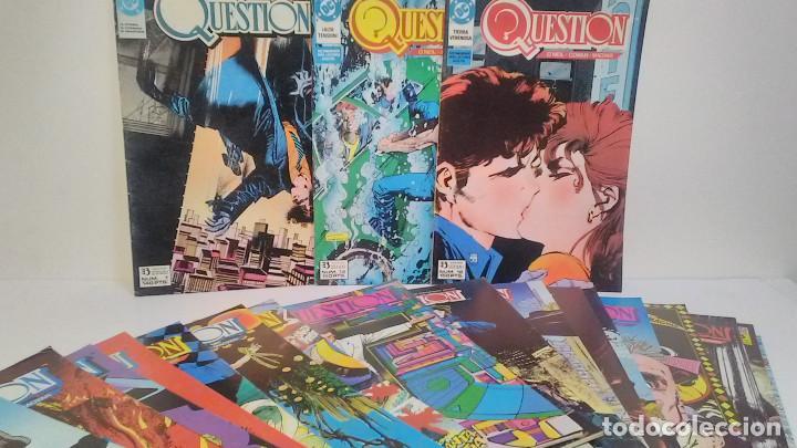 QUESTION. NÚMEROS DEL 1 AL 24 (FALTA EL 22). EDICIONES ZINCO. 1988 (Tebeos y Comics - Zinco - Question)