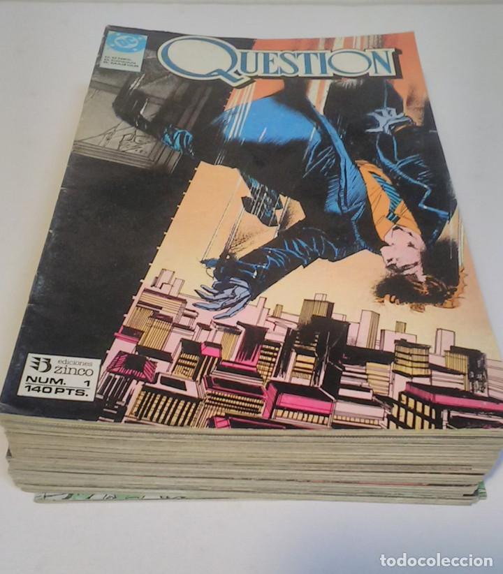 Cómics: Question. Números del 1 al 24 (falta el 22). Ediciones Zinco. 1988 - Foto 2 - 225956926