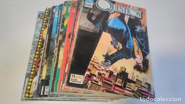 Cómics: Question. Números del 1 al 24 (falta el 22). Ediciones Zinco. 1988 - Foto 5 - 225956926