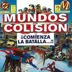 Cómics: MUNDOS EN COLISIÓN, COMPLETA 2 NÚMEROS. Lote 226071435