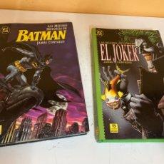 Comics: LAS MEJORES HISTORIAS DE BATMAN Y JOKER JAMÁS CONTADAS. Lote 226119390