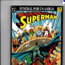 Cómics: SUPERMAN FUNERAL POR UN AMIGO - ZINCO. Lote 226237985