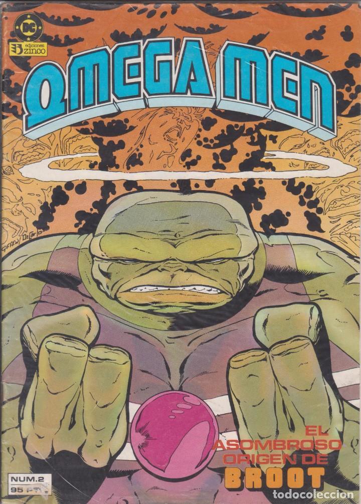 """COMIC DC """" OMEGA MEN """" Nº 2 VOL.1 ED. ZINCO FRMTO. REVISTA (Tebeos y Comics - Zinco - Otros)"""