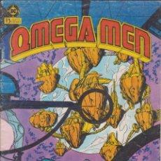 """Cómics: COMIC DC """" OMEGA MEN """" Nº 5 VOL.1 ED. ZINCO FRMTO. REVISTA. Lote 226378031"""