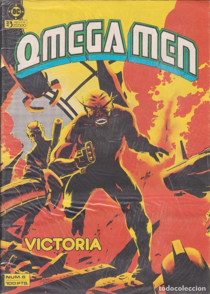 """COMIC DC """" OMEGA MEN """" Nº 6 VOL.1 ED. ZINCO FRMTO. REVISTA (Tebeos y Comics - Zinco - Otros)"""