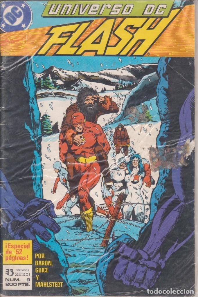 """COMIC """" UNIVERSO DC """" Nº 9 ED. ZINCO FRMTO. U.S.A. (Tebeos y Comics - Zinco - Otros)"""