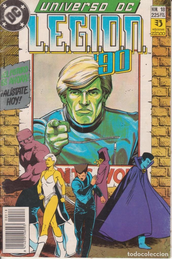 """COMIC """" UNIVERSO DC """" Nº 18 ED. ZINCO FRMTO. U.S.A. (Tebeos y Comics - Zinco - Otros)"""