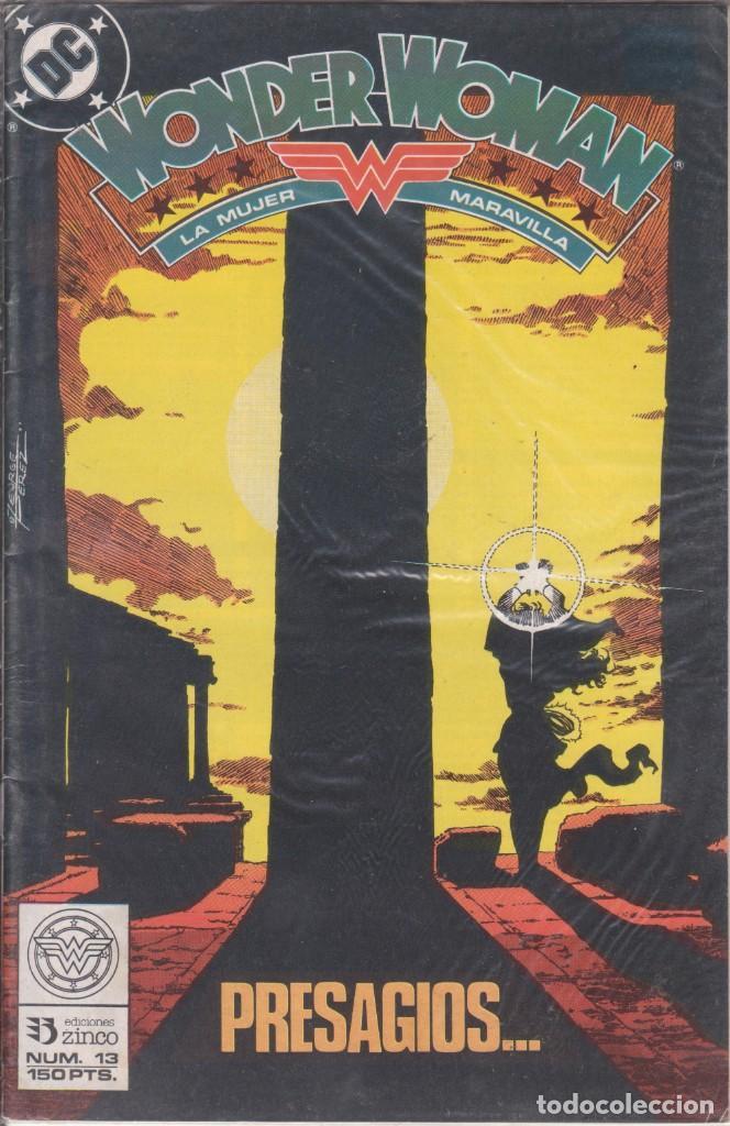 """COMIC DC """" WONDER WOMAN """" Nº 13 ED. ZINCO FRMTO. U.S.A. (Tebeos y Comics - Zinco - Otros)"""
