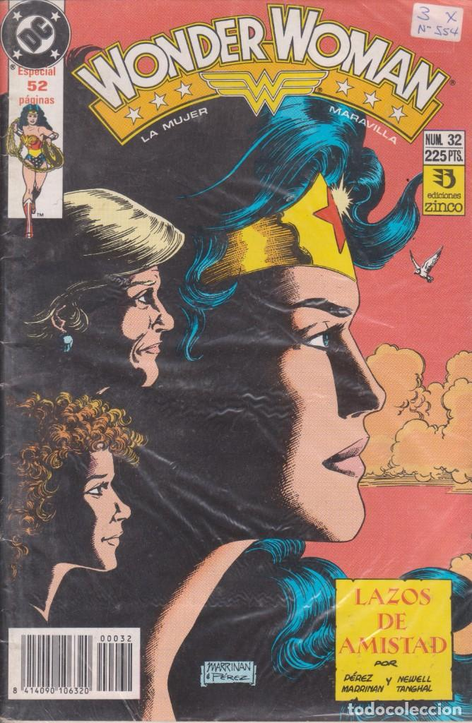 "COMIC DC "" WONDER WOMAN "" Nº 32 ED. ZINCO FRMTO. U.S.A. 52 PGS. (Tebeos y Comics - Zinco - Otros)"