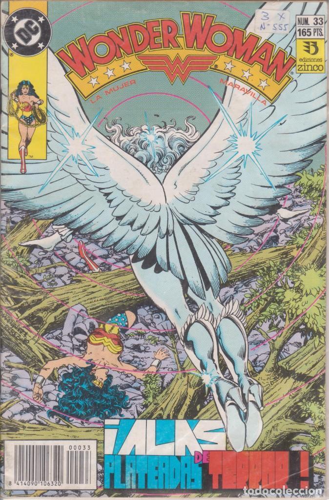 "COMIC DC "" WONDER WOMAN "" Nº 33 ED. ZINCO FRMTO. U.S.A. 52 PGS. (Tebeos y Comics - Zinco - Otros)"
