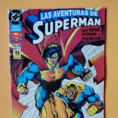 Cómics: LAS AVENTURAS DE SUPERMAN. NÚM. 11. ¡LOS GUARDIANES DE METRÓPOLIS! - KARL KESEL. BARRY KITSON. JAMES. Lote 226436215