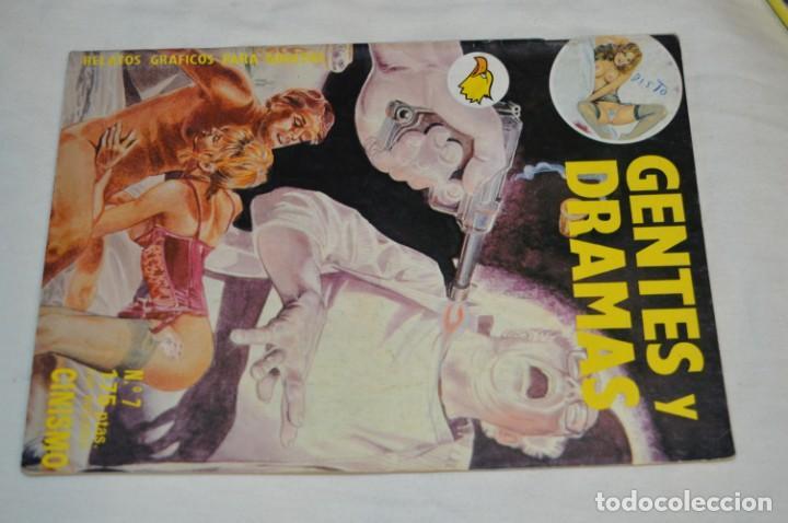 Cómics: 5 Revistas variadas COMICS - ERÓTICO / RELATOS GRÁFICOS PARA ADULTOS / Finales años 80 - ¡Mira! - Foto 8 - 226490010