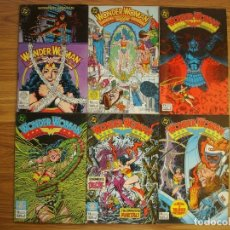 Comics: WONDER WOMAN VOL. 1 Nº 2 AL 7 LOTE 6 EJEMPLARES (2, 3, 4, 5, 6, 7) (ZINCO) DC. Lote 226566435