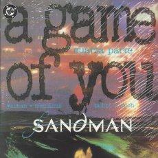 Cómics: SANDMAN A GAME OF YOU - 3 TOMOS - SERIE COMPLETA - PERFECTO ESTADO. Lote 294517588