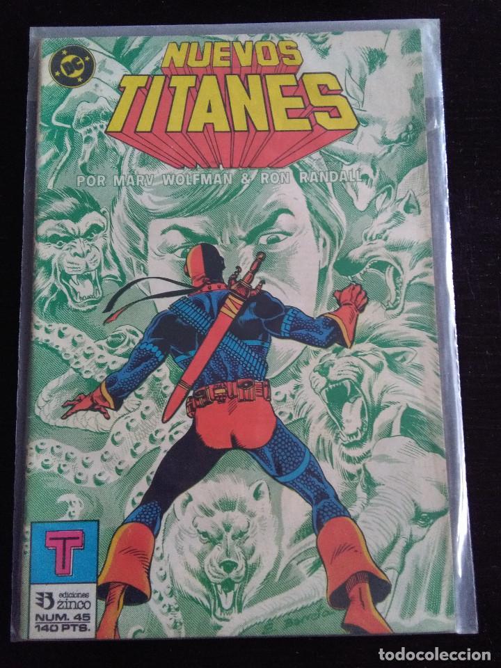 LOS NUEVOS TITANES 45 (Tebeos y Comics - Zinco - Nuevos Titanes)