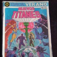 Cómics: ESPECIAL VERANO NUEVOS TITANES. Lote 226790995