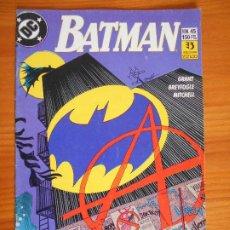Comics: BATMAN VOLUMEN 2 Nº 45 - DC - PLANETA (6P). Lote 226985480