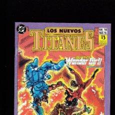 Cómics: LOS NUEVOS TITANES - Nº 14 - QUIEN ES WONDER GIRL 5 - CONSERVA EL POSTER CENTRAL - ZINCO -. Lote 227482350