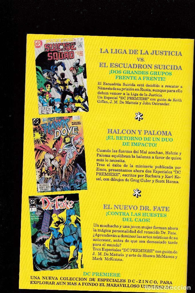 Cómics: LOS NUEVOS TITANES - Nº 14 - QUIEN ES WONDER GIRL 5 - CONSERVA EL POSTER CENTRAL - ZINCO - - Foto 2 - 227482350