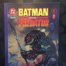 Comics: BATMAN CONTRA PREDATOR N.1 DC DARK HORSE ZINCO NORMA ( 1992 ). Lote 227709375