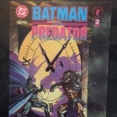Comics: BATMAN CONTRA PREDATOR N.2 DC DARK HORSE ZINCO NORMA ( 1992 ). Lote 227709830