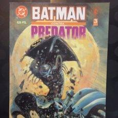 Comics: BATMAN CONTRA PREDATOR N.3 DC DARK HORSE ZINCO NORMA ( 1992 ). Lote 227710030