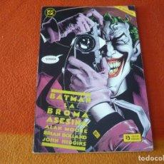 Cómics: BATMAN LA BROMA ASESINA ( ALAN MOORE BOLLAND ) ZINCO 2ªEDICION DC JOKER. Lote 227804625