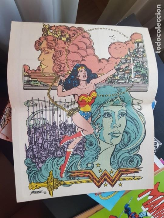 Cómics: LOTE 26 TEBEOS / CÓMIC NUEVOS WONDER WOMAN DC ZINCO LA MUJER MARAVILLA 1989 - Foto 12 - 227827620