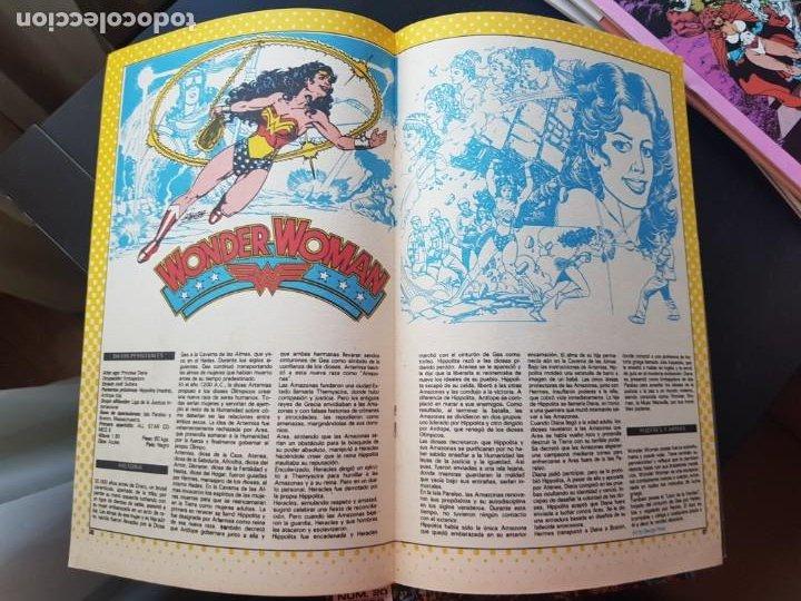 Cómics: LOTE 26 TEBEOS / CÓMIC NUEVOS WONDER WOMAN DC ZINCO LA MUJER MARAVILLA 1989 - Foto 14 - 227827620