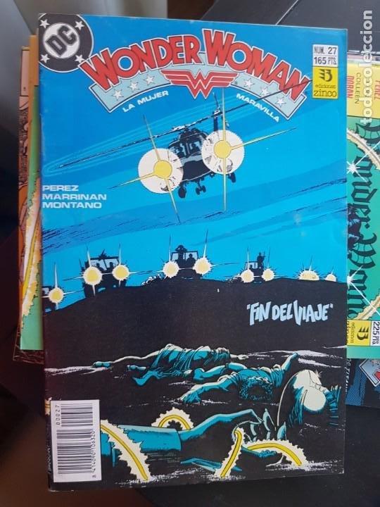 Cómics: LOTE 26 TEBEOS / CÓMIC NUEVOS WONDER WOMAN DC ZINCO LA MUJER MARAVILLA 1989 - Foto 16 - 227827620