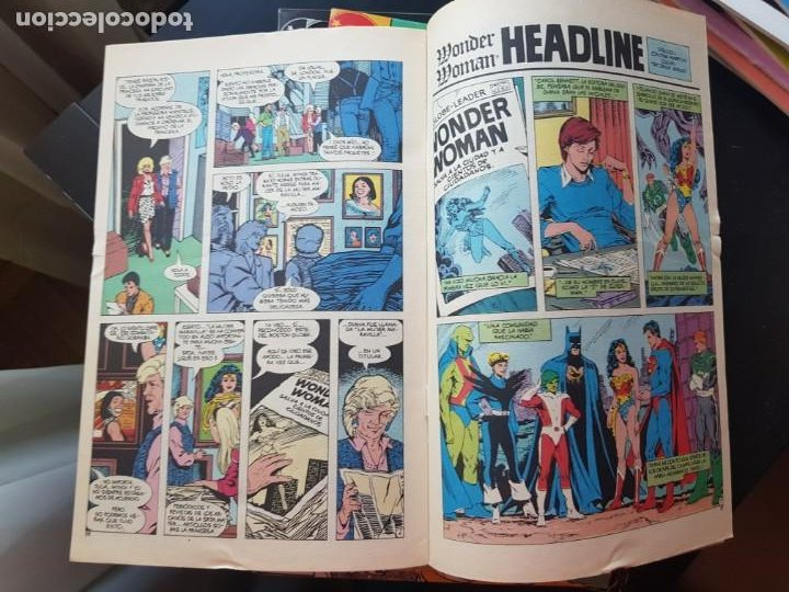 Cómics: LOTE 26 TEBEOS / CÓMIC NUEVOS WONDER WOMAN DC ZINCO LA MUJER MARAVILLA 1989 - Foto 18 - 227827620