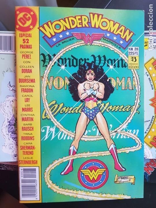 Cómics: LOTE 26 TEBEOS / CÓMIC NUEVOS WONDER WOMAN DC ZINCO LA MUJER MARAVILLA 1989 - Foto 21 - 227827620
