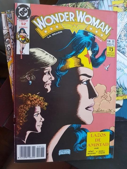 Cómics: LOTE 26 TEBEOS / CÓMIC NUEVOS WONDER WOMAN DC ZINCO LA MUJER MARAVILLA 1989 - Foto 24 - 227827620