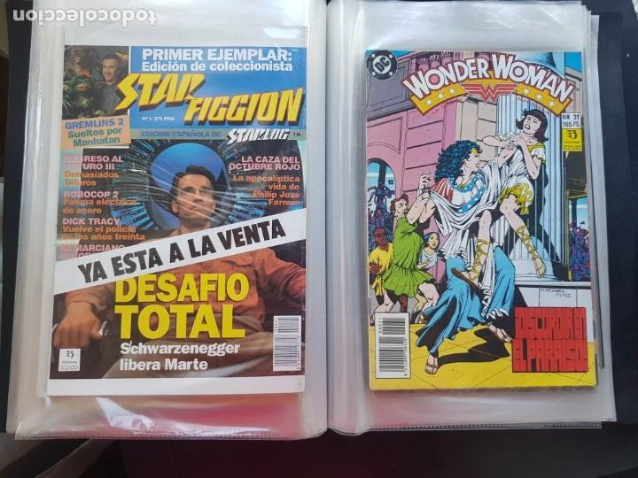 Cómics: LOTE 26 TEBEOS / CÓMIC NUEVOS WONDER WOMAN DC ZINCO LA MUJER MARAVILLA 1989 - Foto 36 - 227827620
