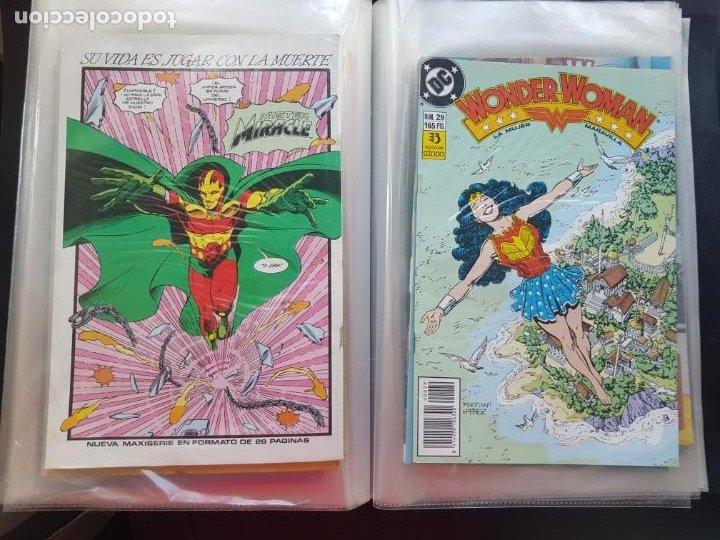 Cómics: LOTE 26 TEBEOS / CÓMIC NUEVOS WONDER WOMAN DC ZINCO LA MUJER MARAVILLA 1989 - Foto 40 - 227827620