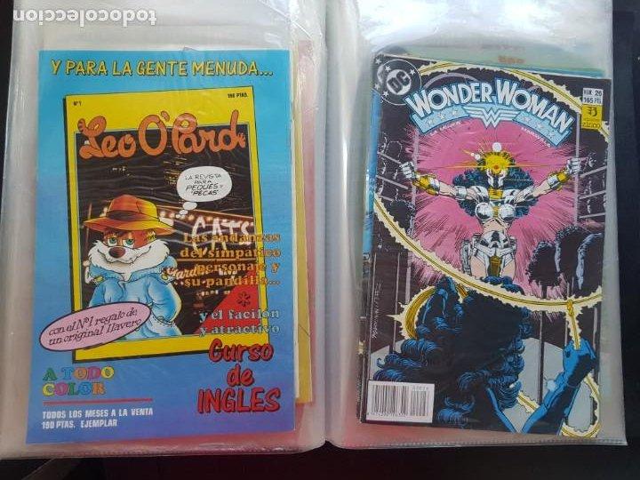 Cómics: LOTE 26 TEBEOS / CÓMIC NUEVOS WONDER WOMAN DC ZINCO LA MUJER MARAVILLA 1989 - Foto 42 - 227827620
