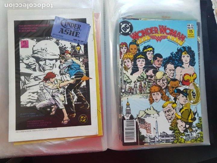 Cómics: LOTE 26 TEBEOS / CÓMIC NUEVOS WONDER WOMAN DC ZINCO LA MUJER MARAVILLA 1989 - Foto 47 - 227827620