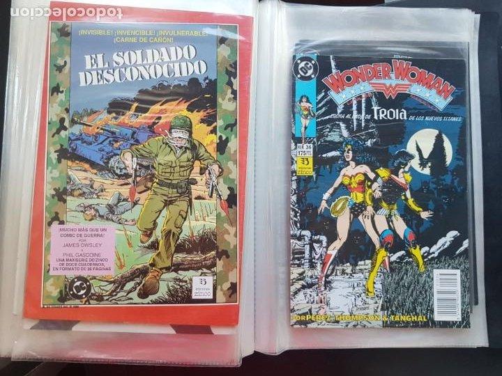 Cómics: LOTE 26 TEBEOS / CÓMIC NUEVOS WONDER WOMAN DC ZINCO LA MUJER MARAVILLA 1989 - Foto 50 - 227827620