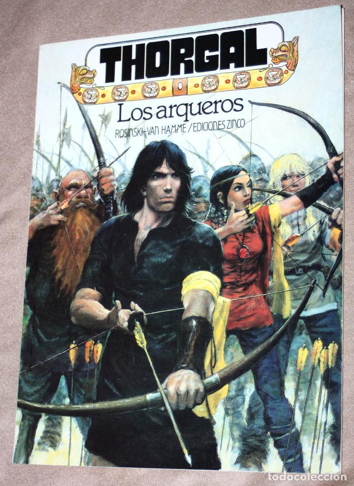 THORGAL : LOS ARQUEROS (DE ROSINSKI & VAN HAMME). EDICIONES ZINCO (Tebeos y Comics - Zinco - Otros)