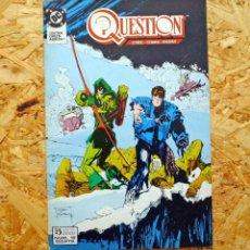 Cómics: THE QUESTION 18. ZINCO. O'NEIL, COWAN, MAGYAR.. Lote 227867516