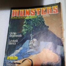 Cómics: MONSTERS. NUMERO 9. RELATOS GRÁFICOS PARA ADULTOS. Lote 227909740