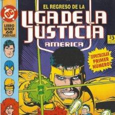 Cómics: EL REGRESO DE LA LIGA DE LA JUSTICIA - TOMO 01 - A ESTRENAR!!. Lote 227971790